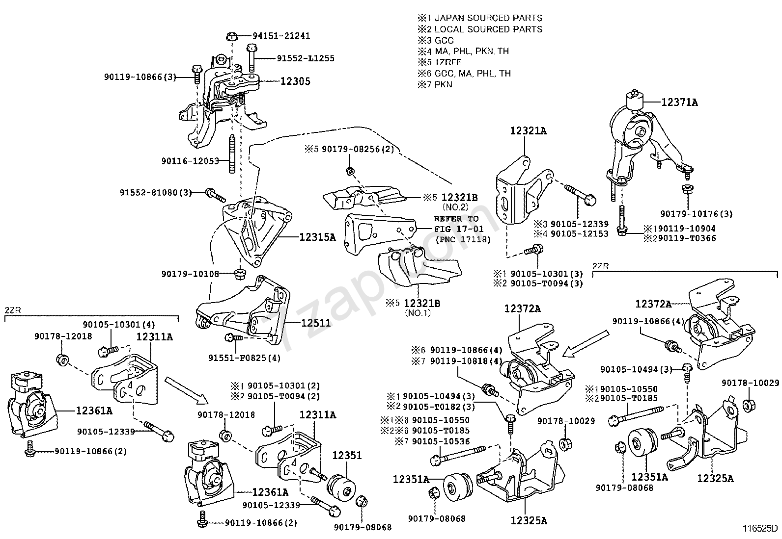 t5000093 need belt diagram 3 liter v6 1994