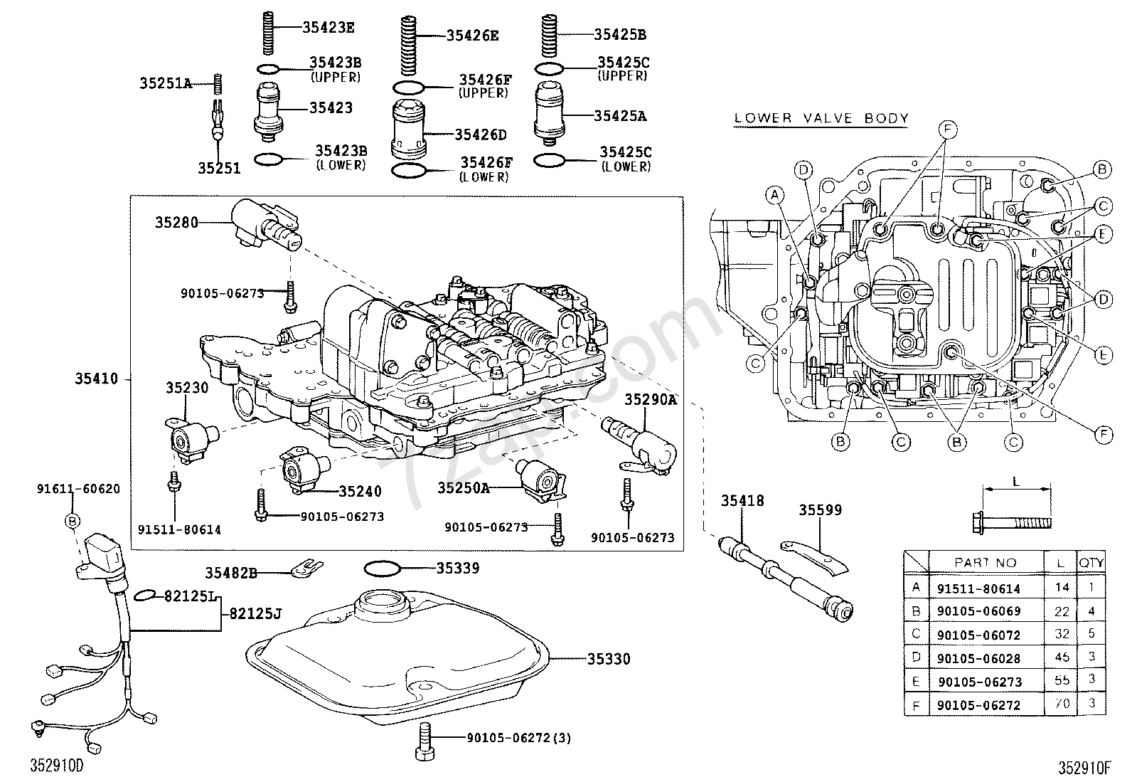 46rh Valve Body Diagram Trusted Wiring Diagrams 30 40le Transmission Corolla For Light