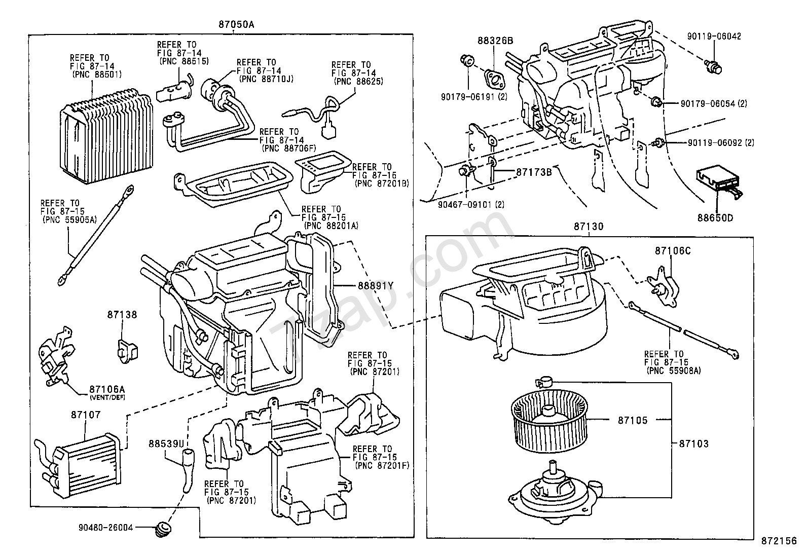 2007 Camry Engine Diagram Wiring Library 99 Toyota Heat Vent Diy Enthusiasts Diagrams U2022
