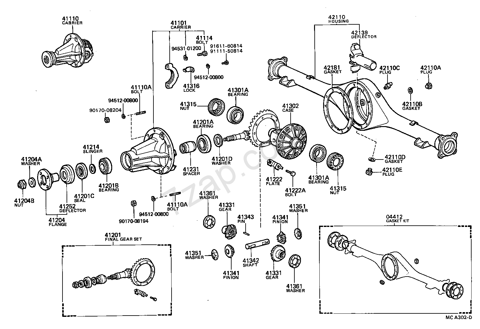 1986 toyota 4runner parts catalog