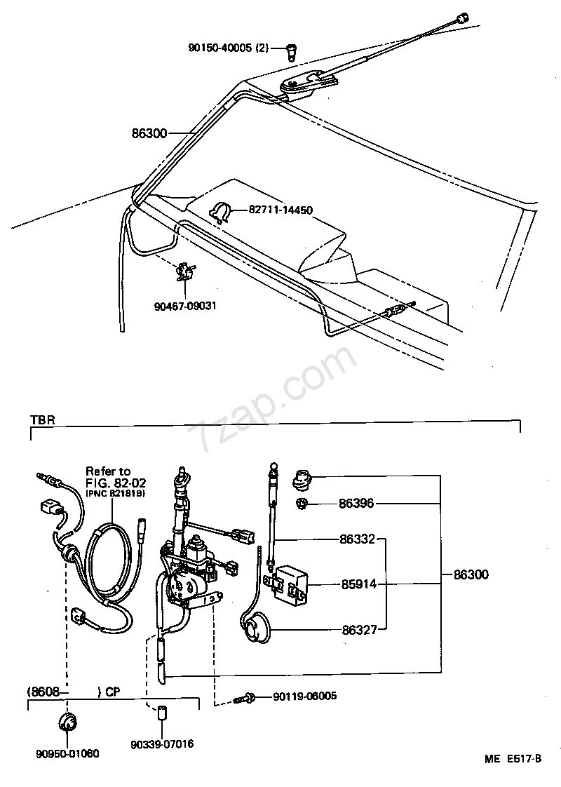 Toyota Mr2 Antenna Diagram Trusted Wiring Diagrams 1987 Schematic Aw1 Japan Celica