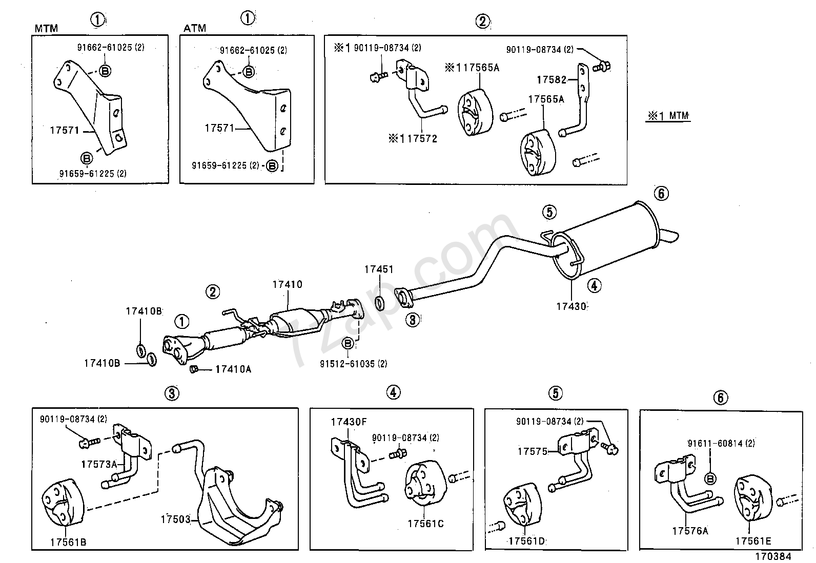 Toyota Previa Exhaust System Diagram Electrical Wiring Diagrams Plug Spark Plugs Pipe