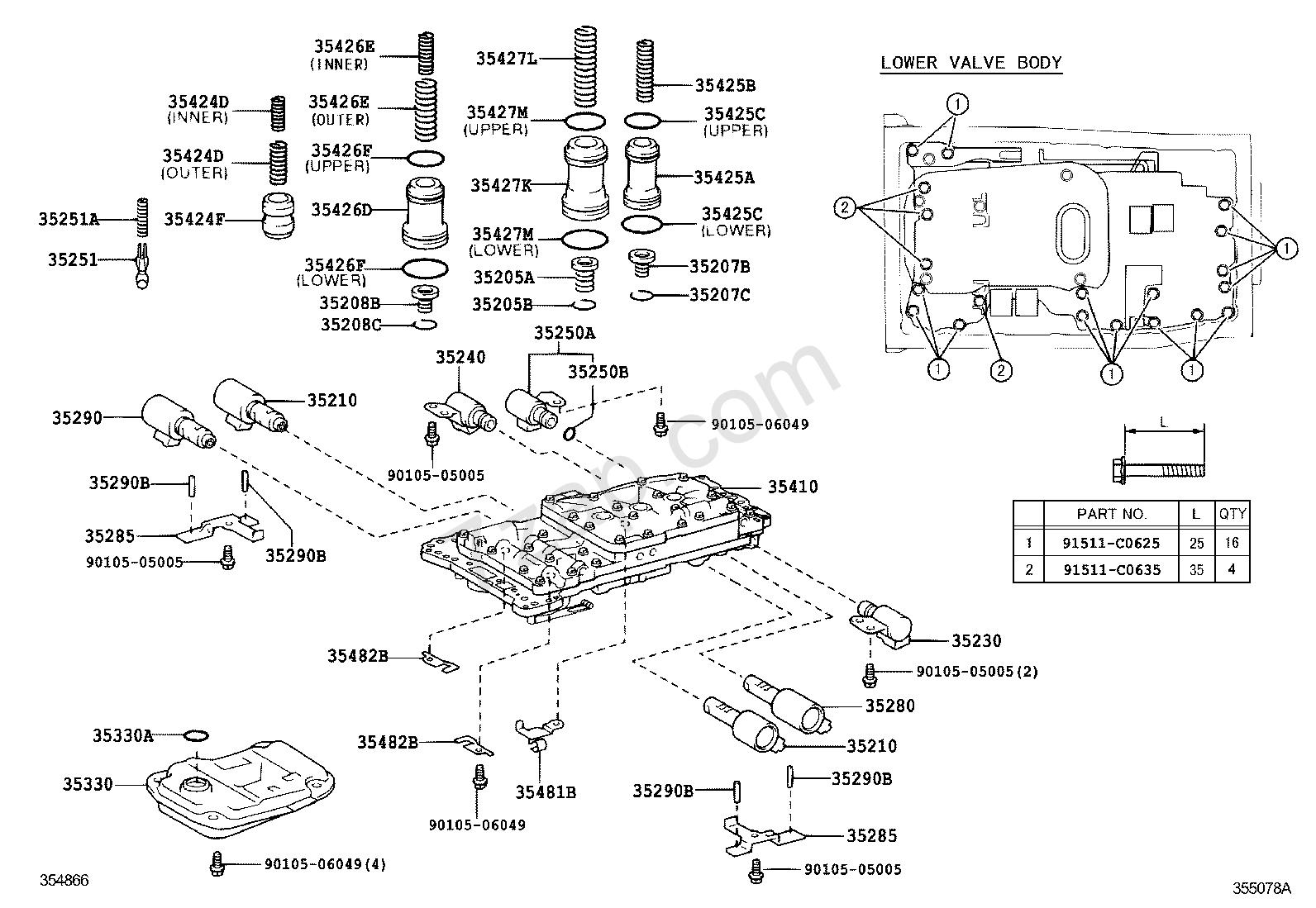 RepairGuideContent further 14508 Fuel Line Replacement as well E40d Transmission Check Ball Location as well A960e further 94 Jeep Wrangler Neutral Safety Wiring Diagram. on lexus transmission shift solenoid location