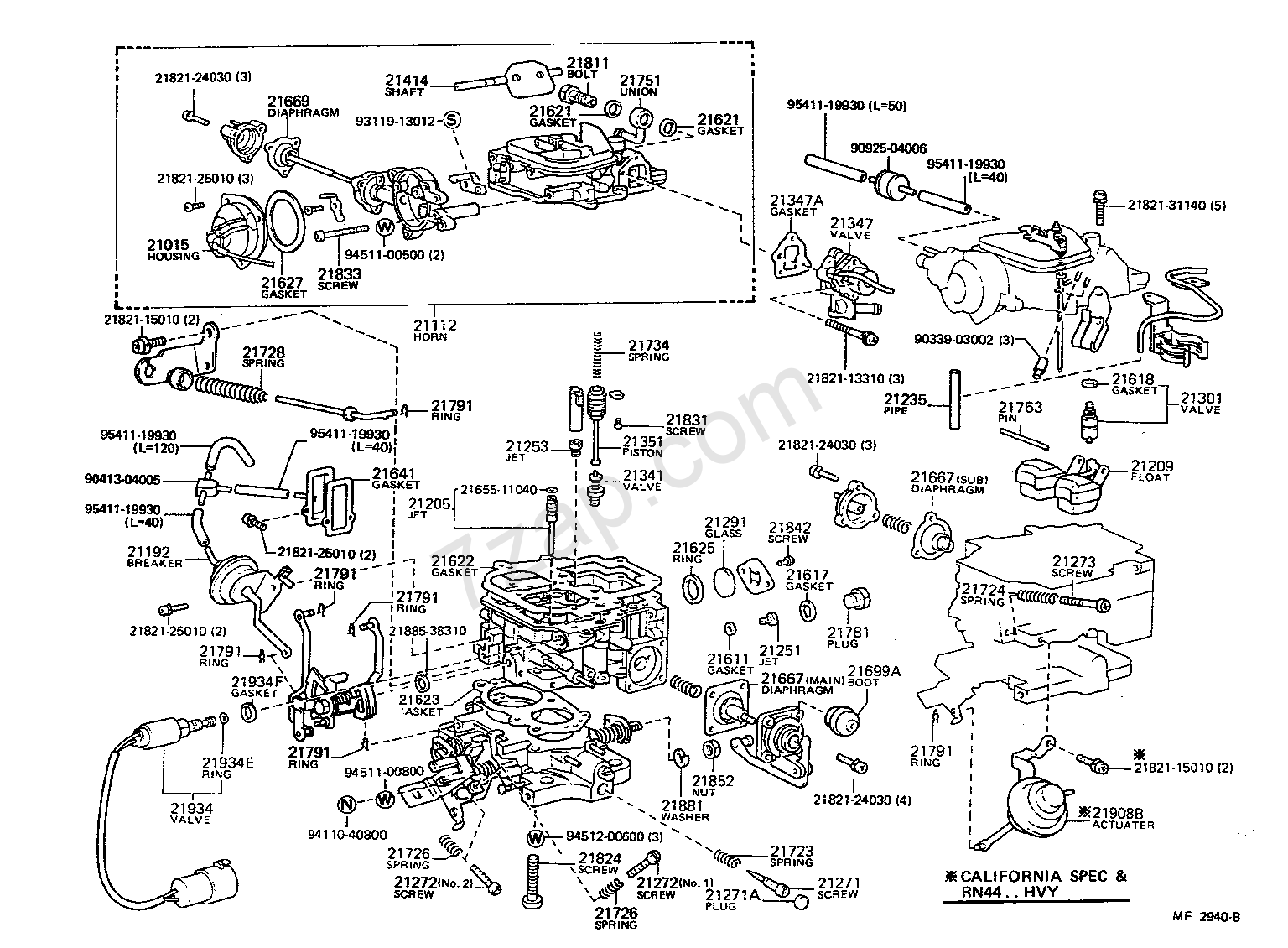 1984 Toyota Pickup Carburetor Problems The Amazing 1982 22r Carb Wiring Diagram 86 Enthusiast Diagrams